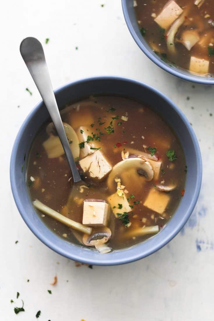 Heiße & saure Suppe