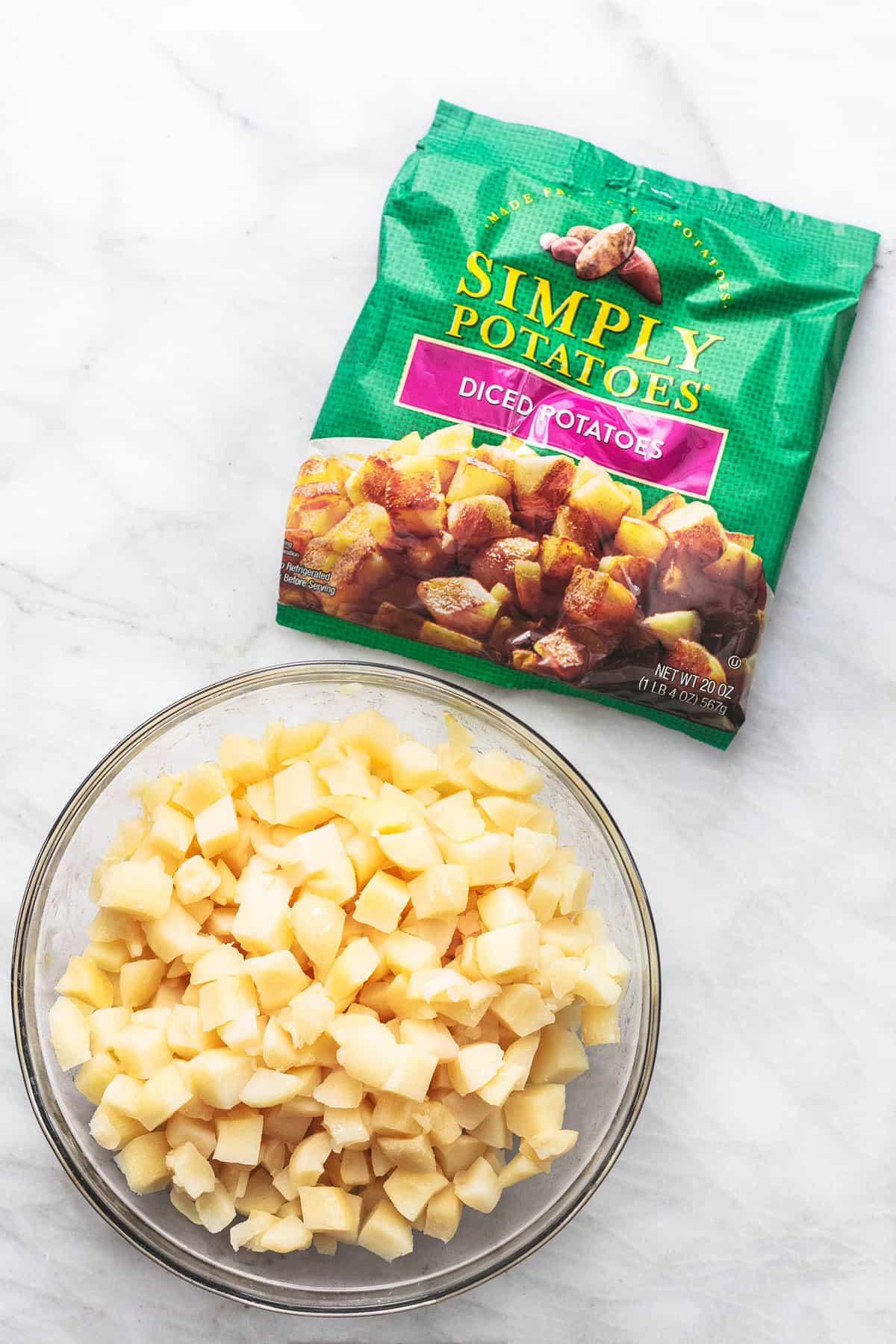 Französische Zwiebelkartoffeln einfaches Beilagenkartoffelrezept für Feiertage! | lecremedelacrumb.com