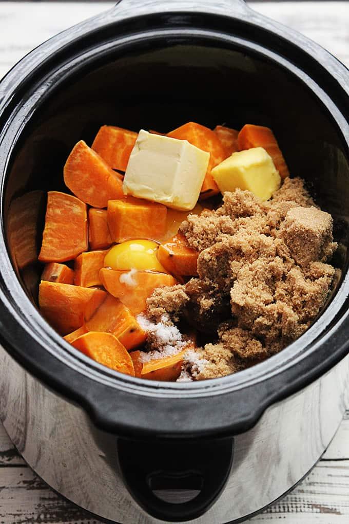 Kandierter Pekannuss-Süßkartoffelauflauf